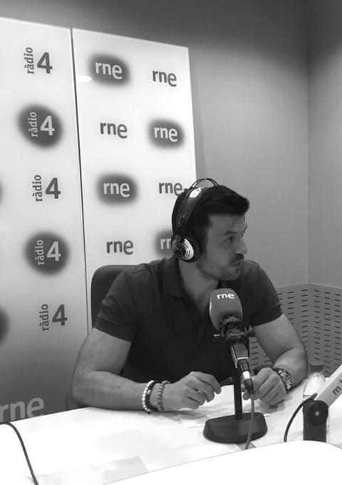 Antonio Renom colaborador semanal en Club 21 de Ràdio 4